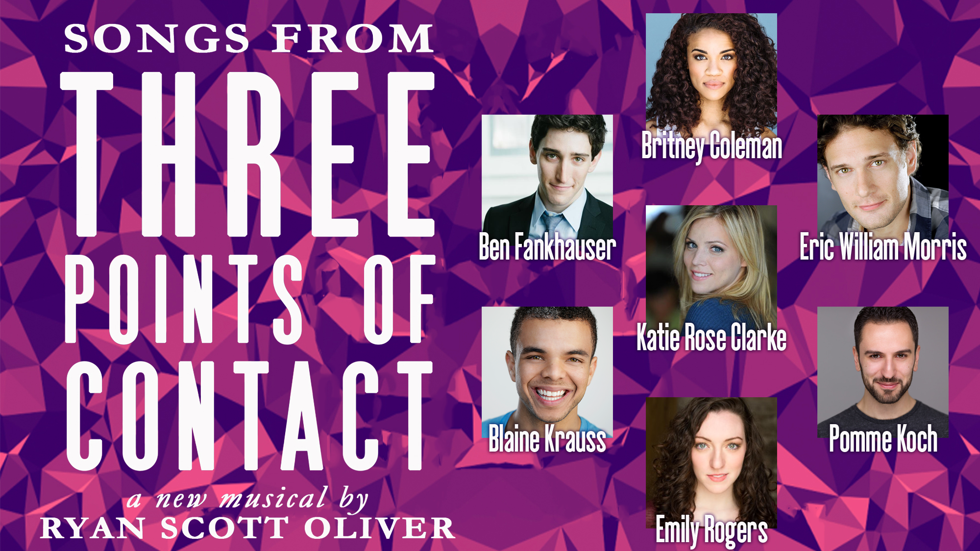 New Musical: Three Points of Contact by Ryan Scott Oliver