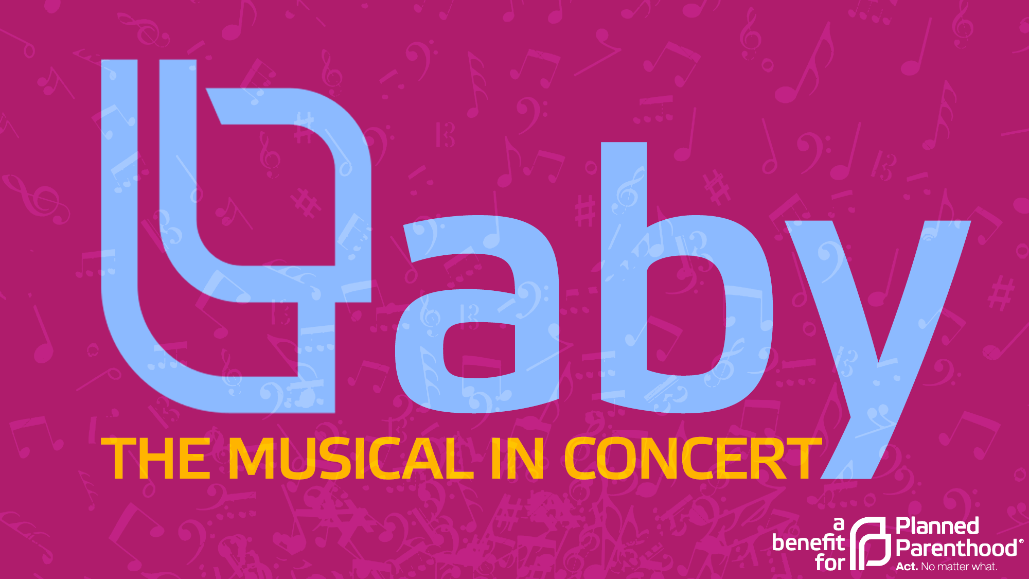Curtains the musical logo - Baby The Musical In Concert