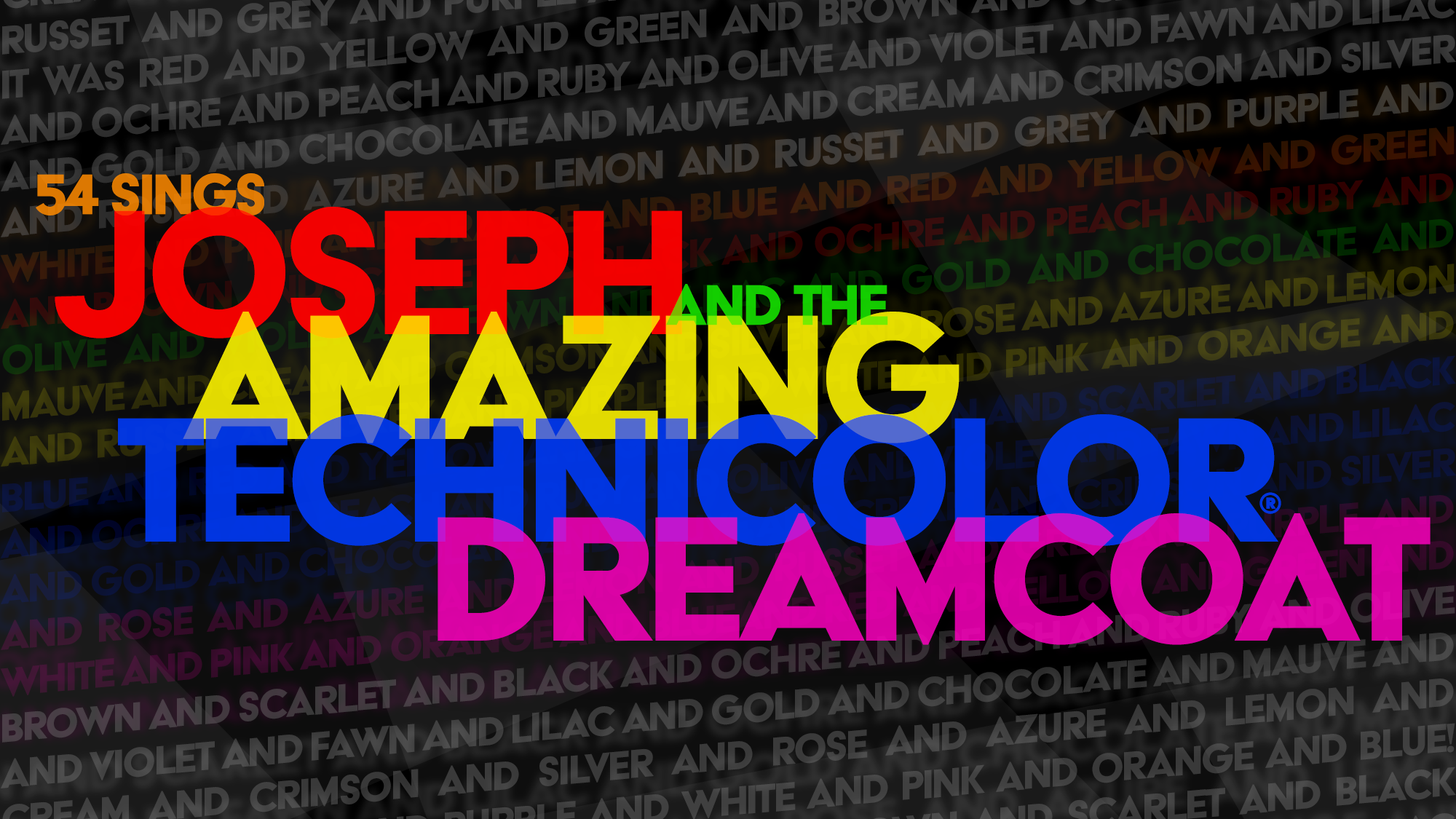 Joseph and the Amazing Technicolor Dreamcoat  25th Anniversary Concert of  the Broadway Revival 81c1ee163