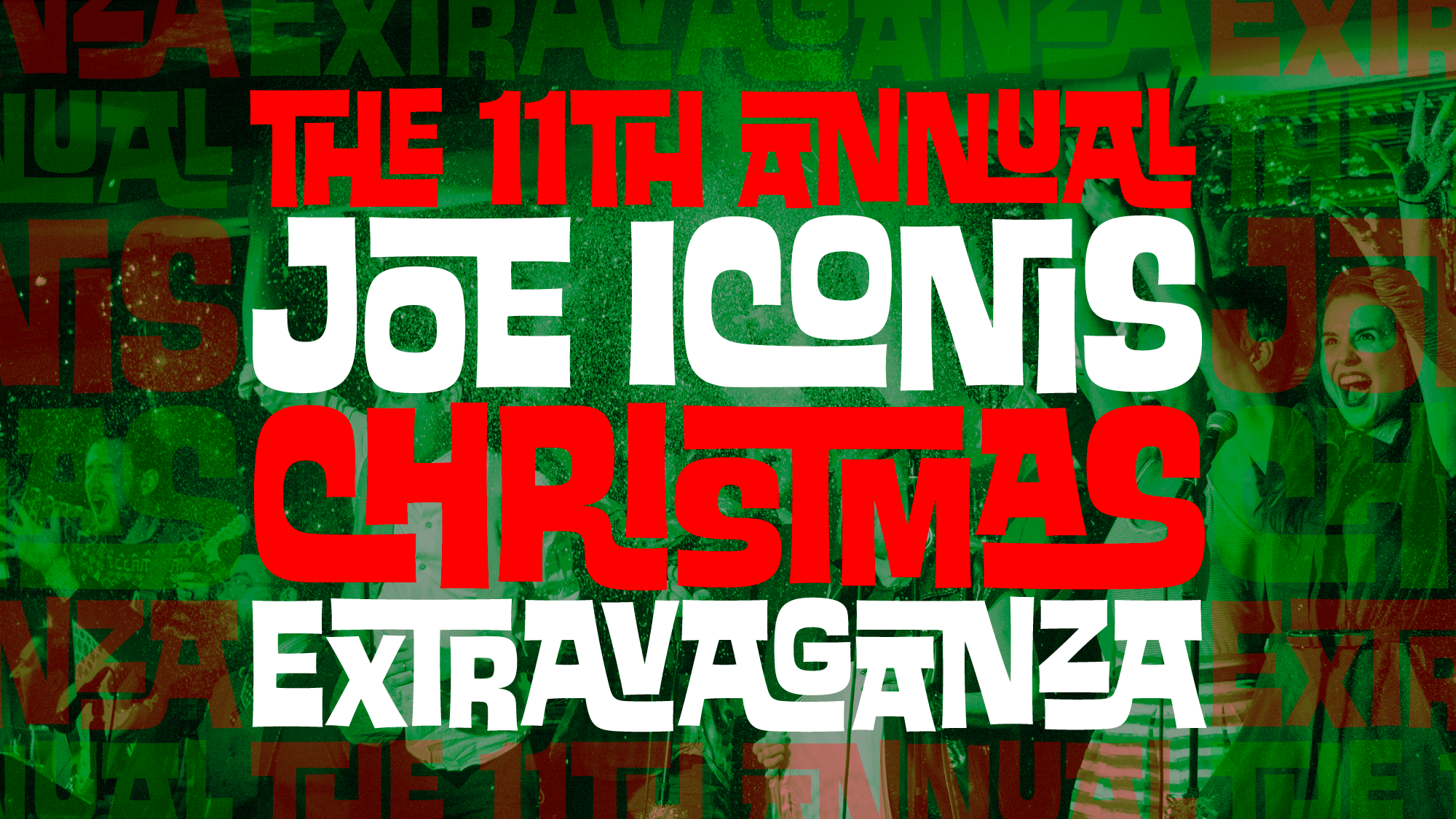 The 11th Annual Joe Iconis Christmas Extravaganza