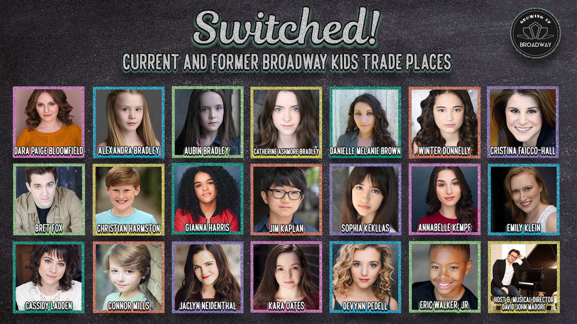 Switched: Current and Former Broadway Kids Trade Places